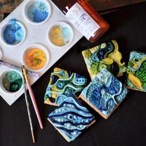 Mini Tile Bas-Relief Moulds